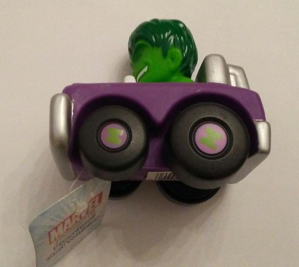 Marvel Toy Car Incredible Hulk Preschool Soft Vehicles 3 Yrs+ NWT by MARVEL