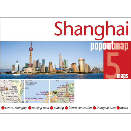 Universal Map Shanghai PopOut Map
