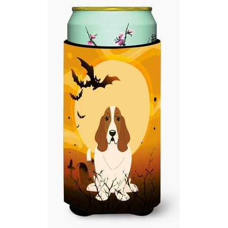 Halloween Basset Hound Tall Boy Beverage Insulator Hugger BB4287TBC](Halloween Basset Hound)