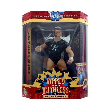Ripped And Ruthless 1 Stone Cold Steve Austin By Jakks Pacific