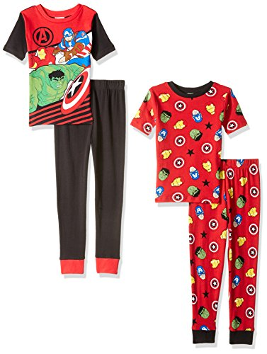 BOYS NASA 4 PIECE PAJAMAS SIZE 2T 3T 4T NEW!