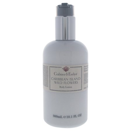 Caribbean Island Wild Flowers Body Lotion by Crabtree & Evelyn for Unisex - 10.1 oz Body Lotion