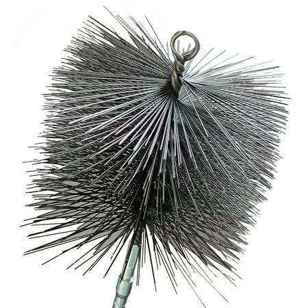 Rutland Chimney Brush (16508 8-Inch Square Chimney Cleaning Brush, Chimney cleaning brush By Rutland)