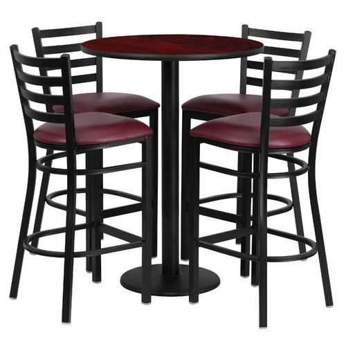 Red Barrel Studio Aniket 5 Piece Pub Table Set