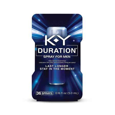 K Y Duration Spray For Men   0 16 Oz