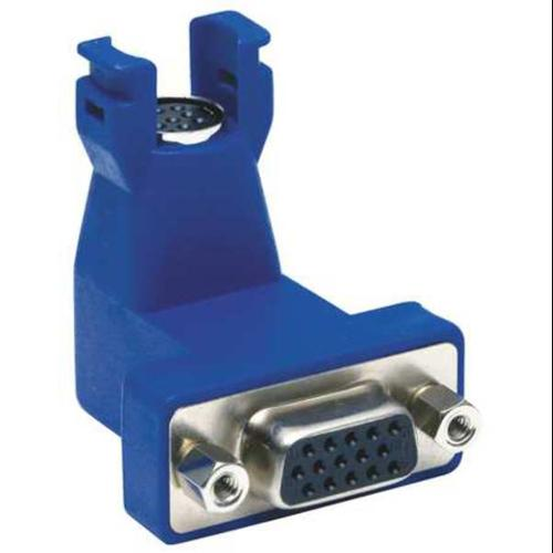 HUBBELL PREMISE WIRING 15N6P1 VGA Connector,15-Pinto 8-Pin,Blue