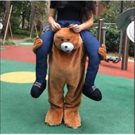 Homemade Teddy Bear Halloween Costume (Carry Me Teddy Bear Costume)