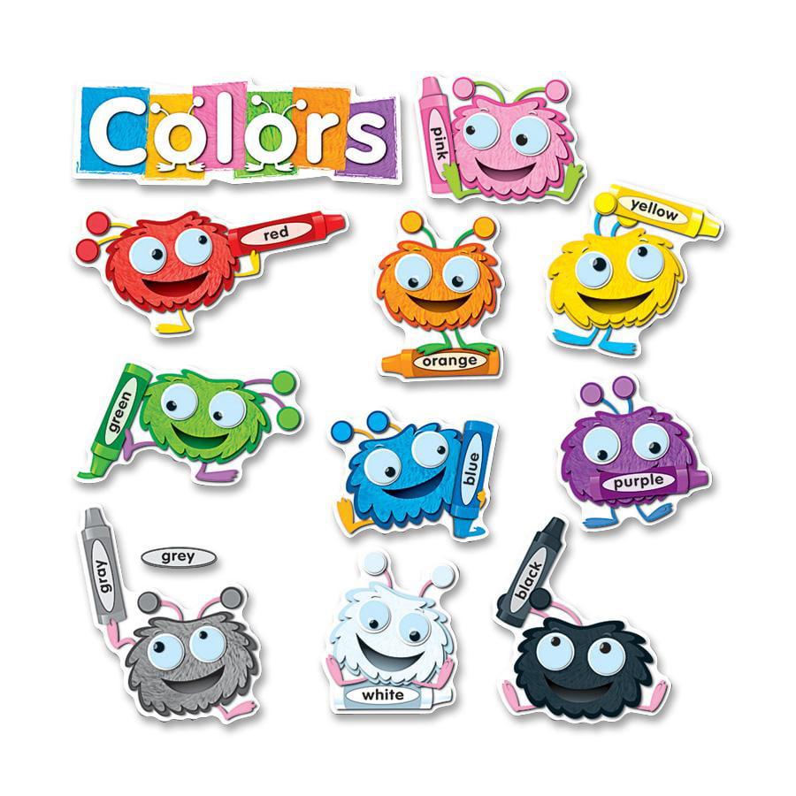 Carson Fuzzy Color Critters Bulletin Board Set by Carson-Dellosa Publishing Co., Inc