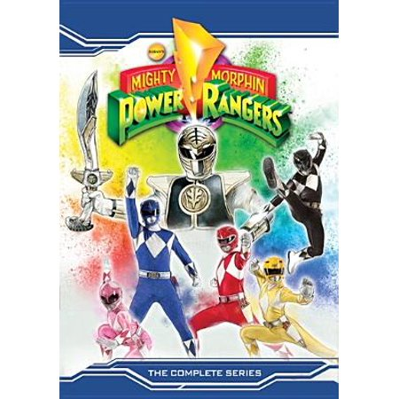 - Mighty Morphin Power Rangers: The Complete Series (DVD)
