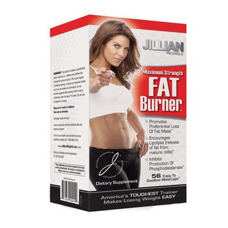 Jillian Michaels Force Maximum Fat Burner Metacaps - 56 Ea, Pack 2