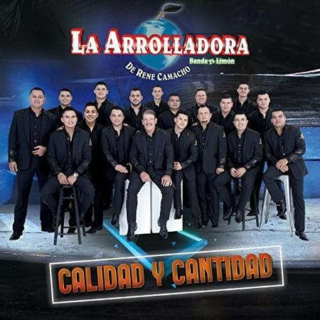 La Arrolladora Banda El Limo - Calidad Y Cantidad (CD)