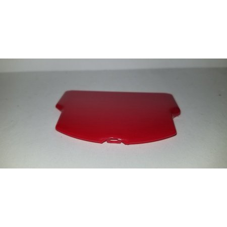 RED HIGH GLOSS BATTERY COVER LID DOOR FOR PSP 2000 2001 3000 3001 -