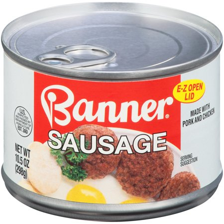 Banner Sausage with Natural Juices, 10.5 oz Can