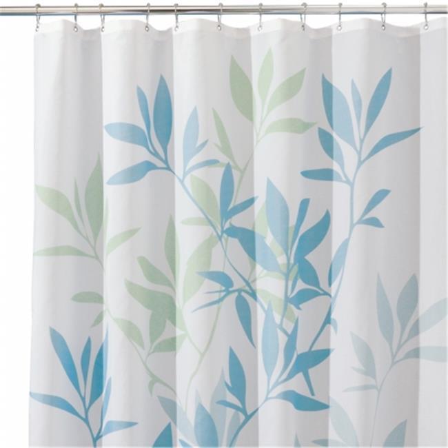 Interdesign 35650 Blue Green Shower Curtain