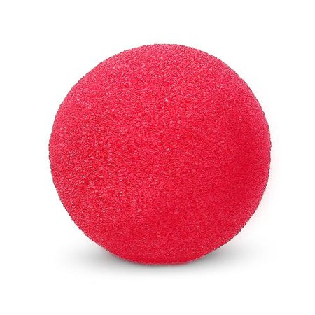 KABOER Party Sponge Red Clown Nose Halloween Party Circus Carnival Cosplay Red Nose Sponge Ball Clown Nose