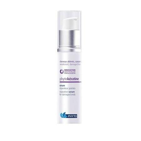 Phytokeratine Reparative Serum for Unisex, 1.01 Ounce + Makeup Blender Stick, 12
