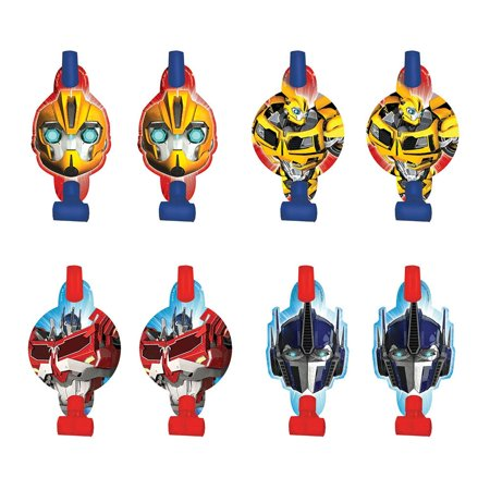 "Transformers 5"" Blowouts (8 Pack) - Party Supplies"