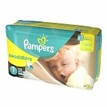Pampers Swaddlers Diapers Size 1 35.0 ea (pack of 2)
