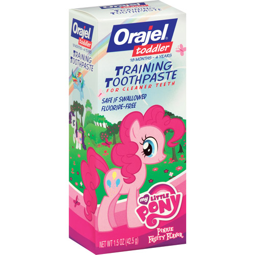 Orajel My Little Pony Toddler Training Toothpaste, 1.5 oz