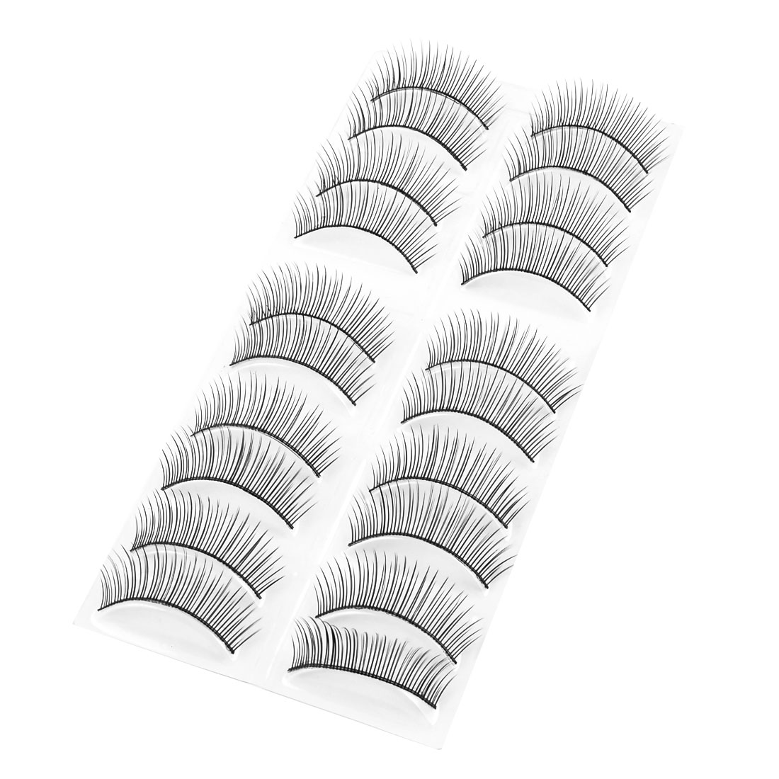 Unique Bargains Long Thick False Eyelashes Fake Lashes Extension 10 Pairs