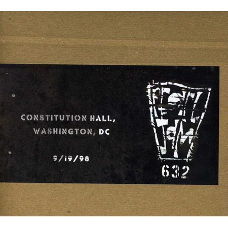 Official Bootleg: Constitution Hall DC 9/19/98