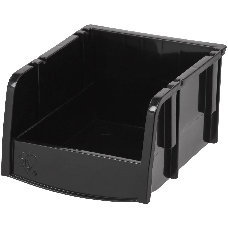 IRIS Hardware Garage Storage Extra Small Bin, Black