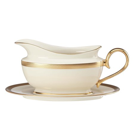 Lenox Lowell Sauce Boat & Stand