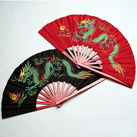 Metal Dragon Fighting Martial Arts Kung Fu Fans Bo Staff Martial Arts