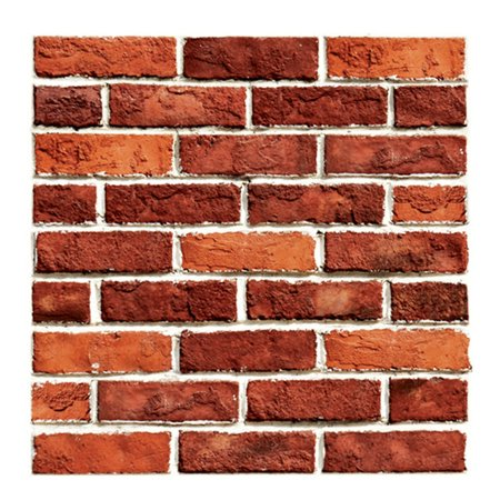 3D Wallpaper Wall Sticker Wall Decor Embossed Brick Simulation Tile Wa