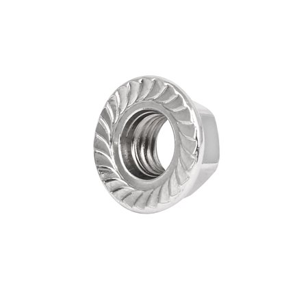 Hexagon Nut Type (M12 316 Stainless Steel Serrated Hexagon Head Hex Flange Nut)