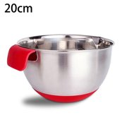 Stainless Steel Mixing Bowl Dishwasher Safe Food Storage Bowls Kitchen Baking
