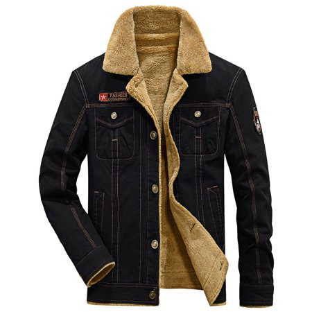 Codream 2018 Men Jacket Coats Winter Military Bomber Plus