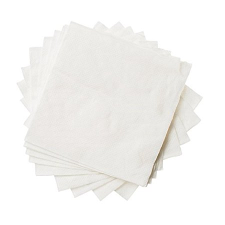 One Cocktail - Beverage Paper Napkins, 1 Ply Cocktail Napkin, Bulk Package, White (1000 Napkins)