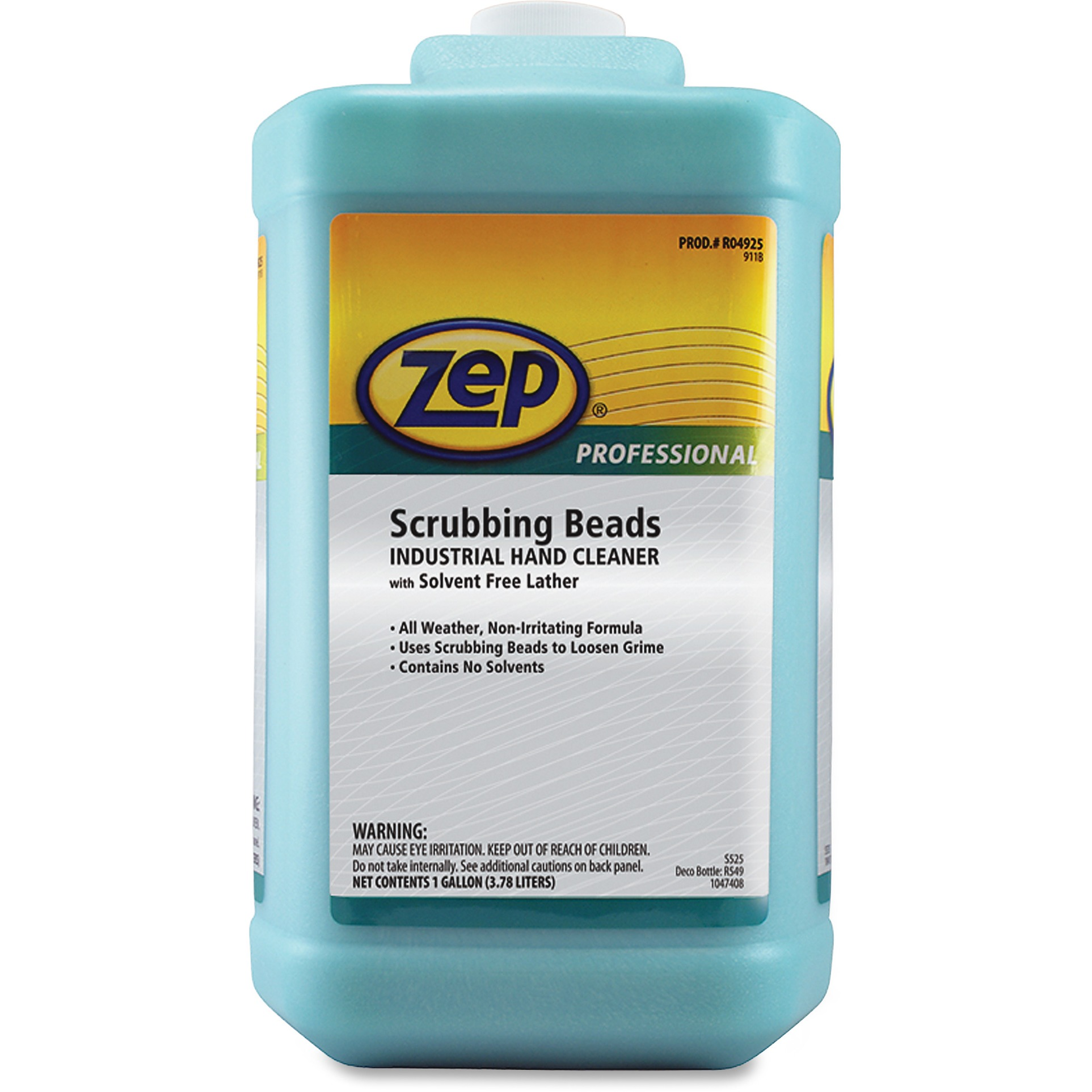 Zep Inc. Scrubbing Beads Industrial Hand Cleaner - ZPER04925CT