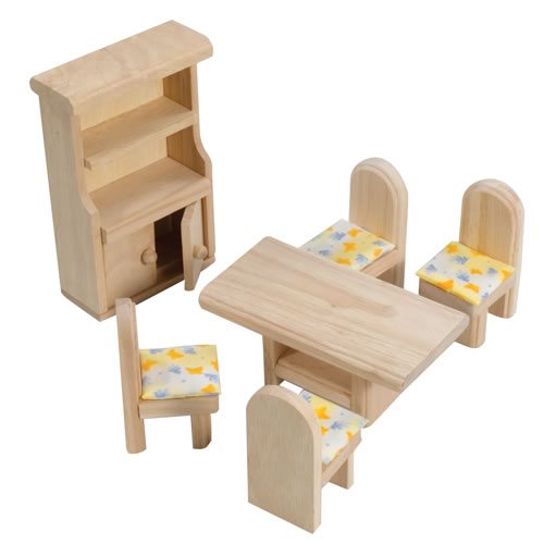 Classic Dining Room Doll House Furniture