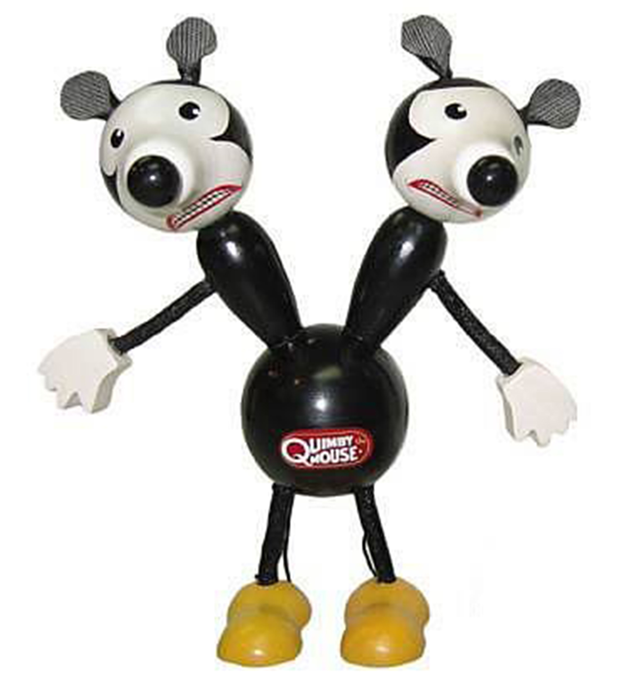 "Quimby The Mouse 6"" Wooden Toy"