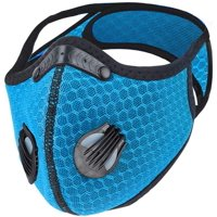 Breathable lightweight Face mask, with interior replacable filter and head strap