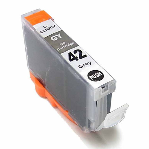Universal Inkjet Compatible Cartridge for Canon CLI-42GY Cartridge, Gray