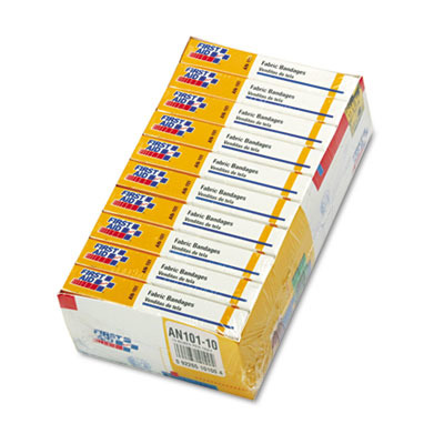 First-Aid Refill Fabric Adhesive Bandages FAOAN101
