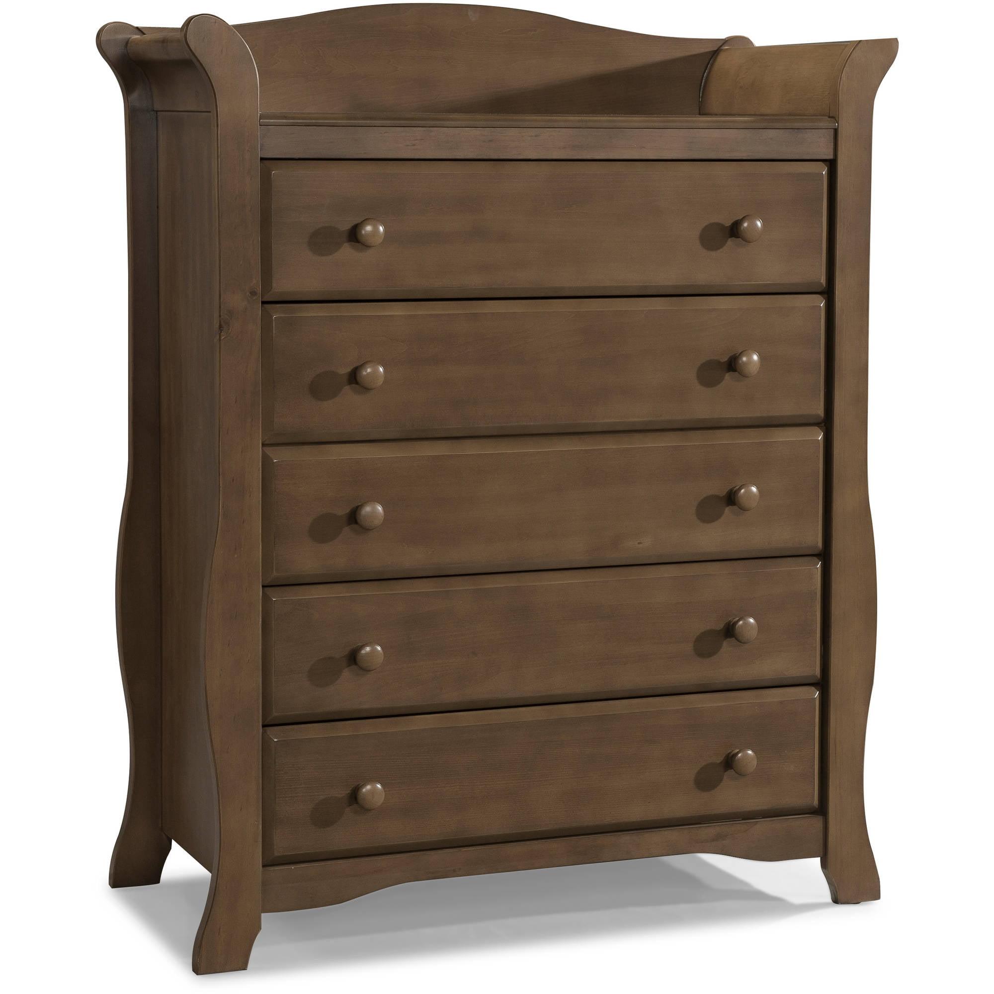 Storkcraft Avalon 5-Drawer Universal Dresser (Choose Your Finish)
