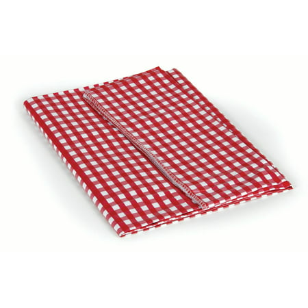 Camco 51019 Red And White Vinyl Tablecloth Walmart Com