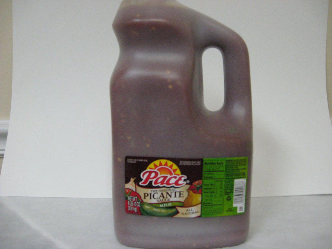 4 PACKS : Pace Picante Sauce Mild 1 Gallon