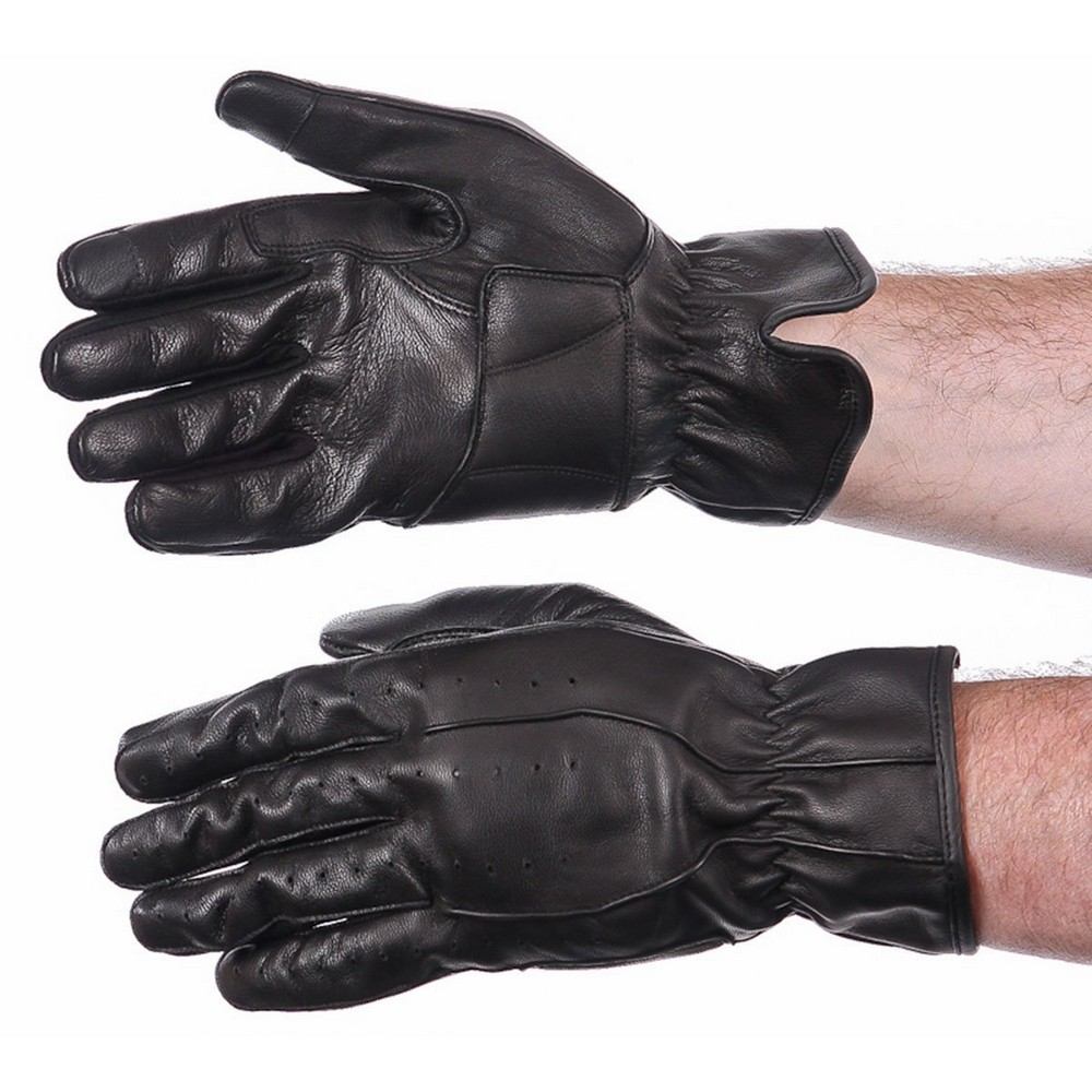 Tourmaster Select Summer 2.0 Mens Leather Gloves Black