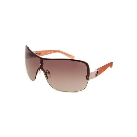 Guess Gf0274-28F-115 Women's Shield Pink  Black Gradient Lenses -