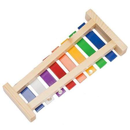 Muscial Notes (Sky Percussion Musical Toy with 8 Note 11.5 inch Wooden Xylophone Great Gift )