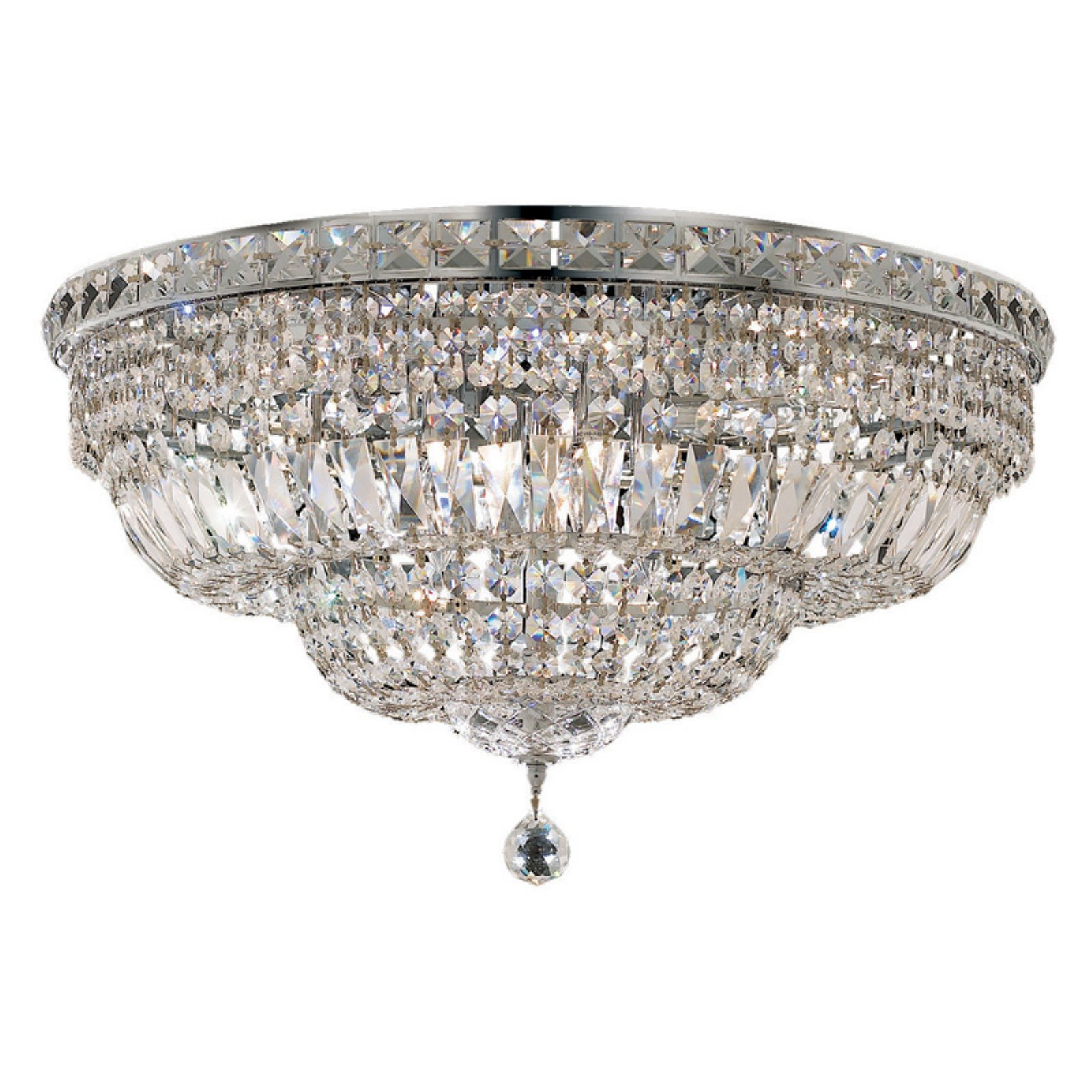Elegant Lighting Tranquil III 2528 Flush Mount Light