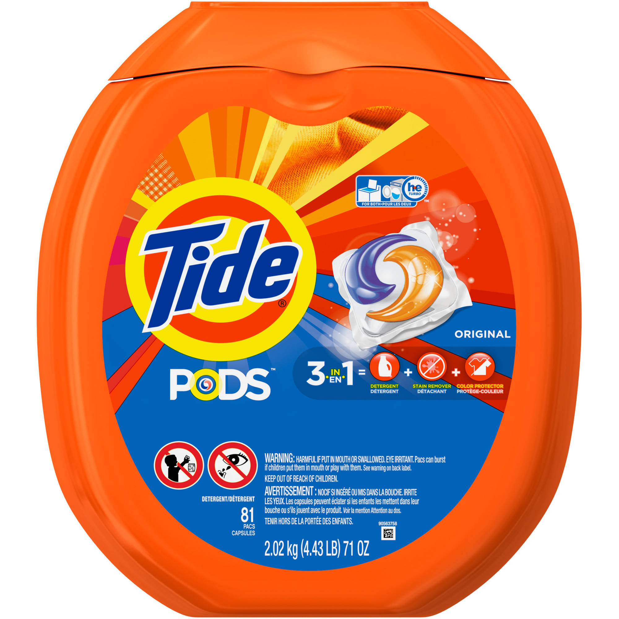 Tide PODS Laundry Detergent, 81 Count/Loads, (Choose Your Scent)