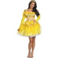 Disney Princess Belle Sassy Adult Halloween Costume