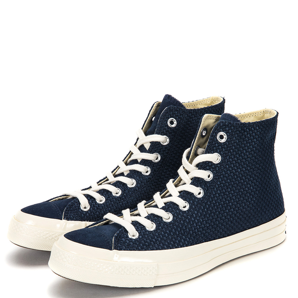 Converse Chuck Taylor All Star 70 High Top Sneakers 155451C Obsidian Egret by