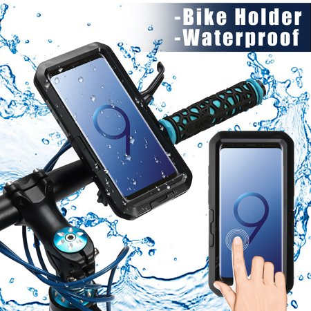 IPX8 Underwater Diving Waterproof Case Motorcycle Bicycle Bike Holder with Arm Belt For iPhone For Samsung Smart Phone